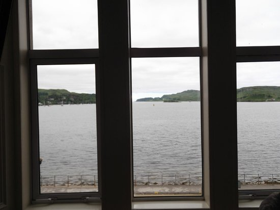 Oban Bay Hotel: View from Room 4
