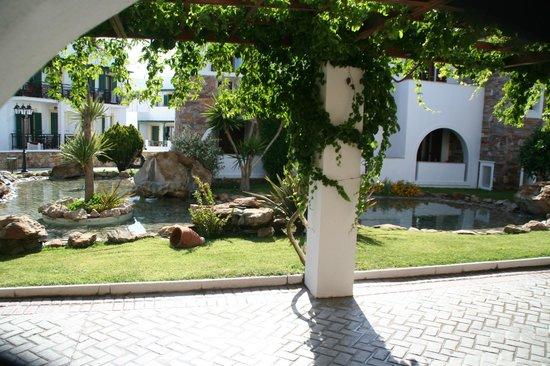 Naxos Resort Beach Hotel : Ein sehr schöner Teil der Hotelanlage