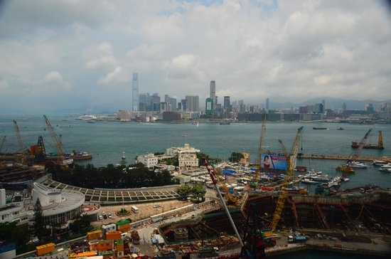 The Excelsior, Hong Kong: view from room.
