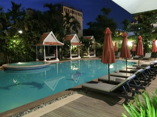 Memoire d' Angkor Boutique Hotel : swimming pool