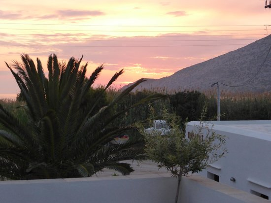 Morfeas Pension: View from terrace