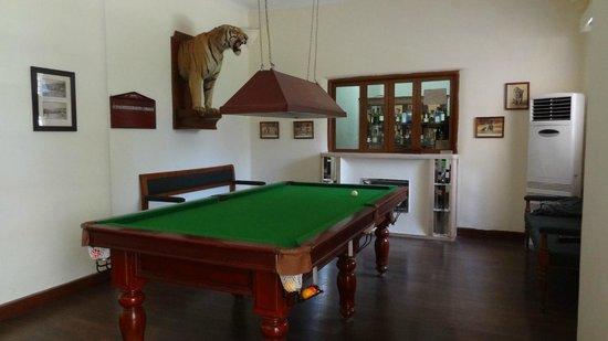 Vivanta by Taj - Sawai Madhopur Lodge: Snooker room