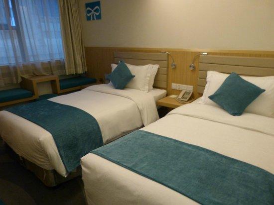 Xian Skytel Hotel: Betten