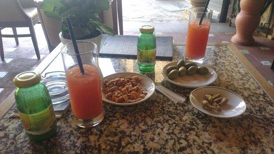 Hotel Mulino di Firenze: Einstimmung zum Dinner