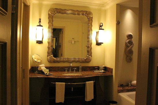 Atlantis, The Palm: Bathroom (club room)