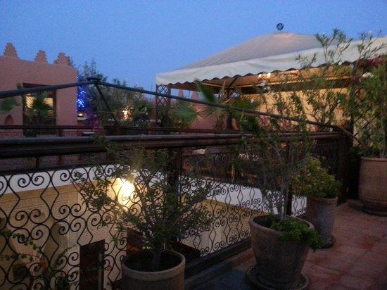 Riad Les Nuits de Marrakech: Lounge area