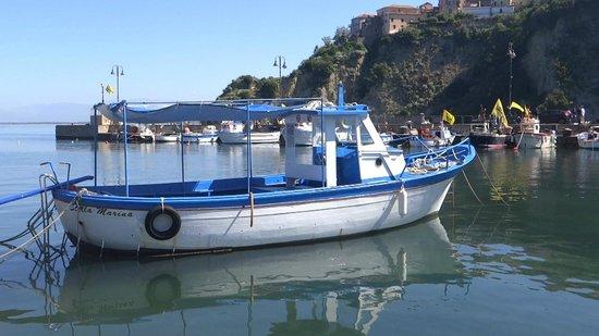 B&B Vecchio Saracino: Barca per escursioni