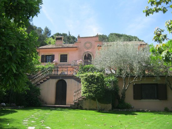 Villa Clementine : View from the garden