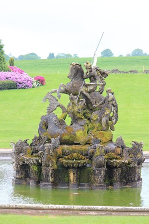 Witley Court & Gardens: Fountain not fountaining