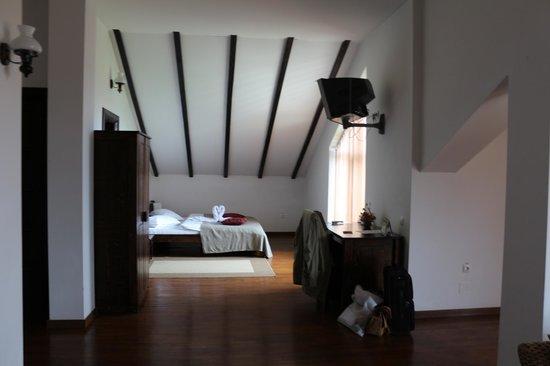 Transylvanian Inn: the sleeping area