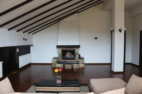 Transylvanian Inn: the fireplace