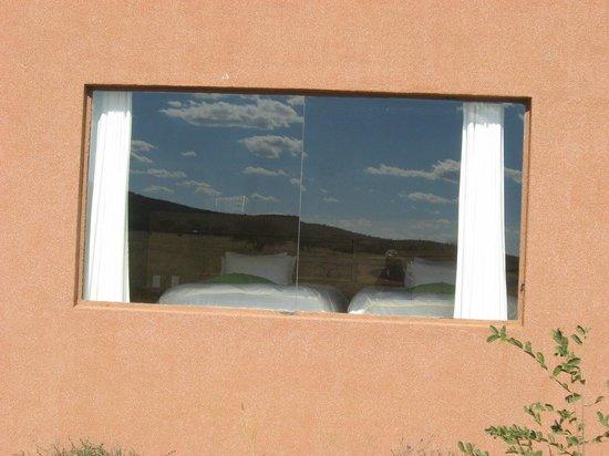 Okonjima Bush Camp: Panoramic window