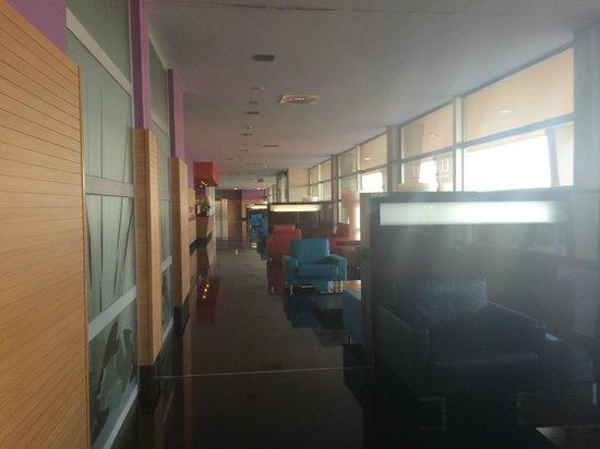 Eurostars Rey Fernando: Pasillo del Centro de Convenciones