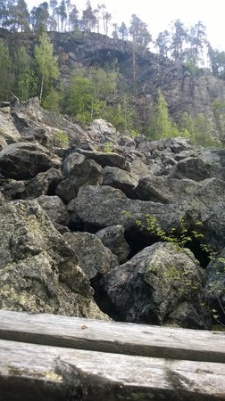 Korouoma Canyon: devils field