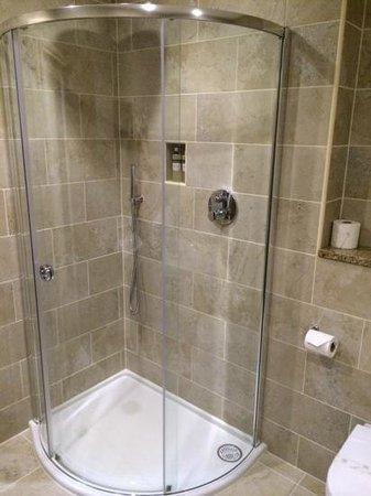 The Old Mill Inn: Shower in Room 1