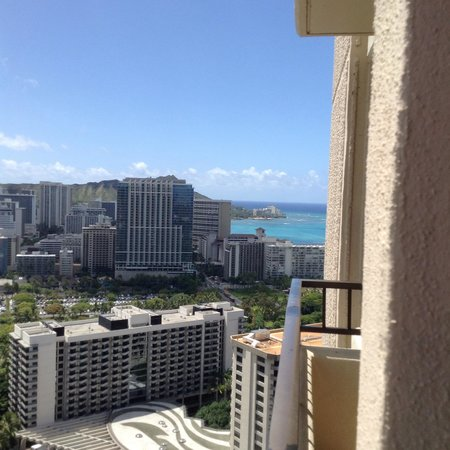 Hilton Hawaiian Village Waikiki Beach Resort: Room view