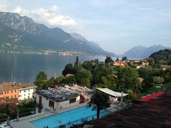 Hotel Belvedere Bellagio: the view from our room