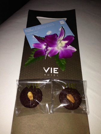 VIE Hotel Bangkok, MGallery by Sofitel: Cookies surprise