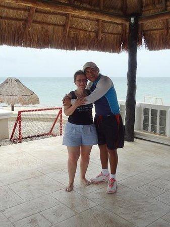 Moon Palace Golf & Spa Resort: Me & Carlos