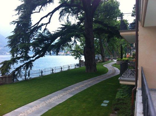 Casta Diva Resort & SPA : Lake View