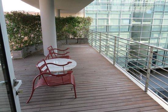 Radisson Blu es. Hotel, Roma : Balcony