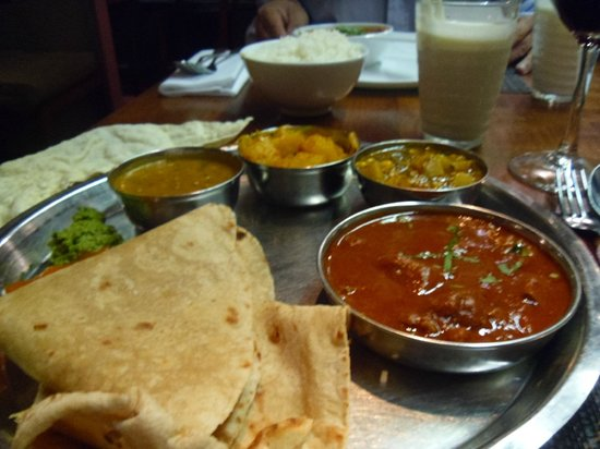 Masala Zone Covent Garden: Yummy.. Thali dish