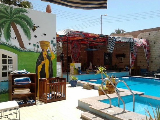 Nile Valley Hotel Restaurant: pool