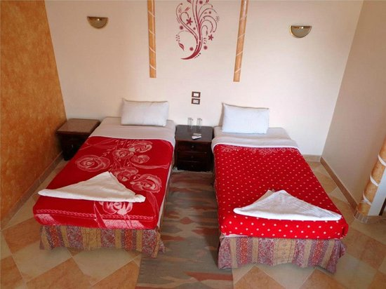 Nile Valley Hotel Restaurant: double room
