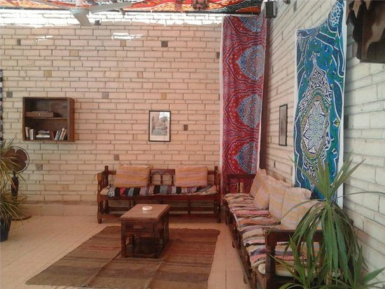Nile Valley Hotel Restaurant: relaxing area