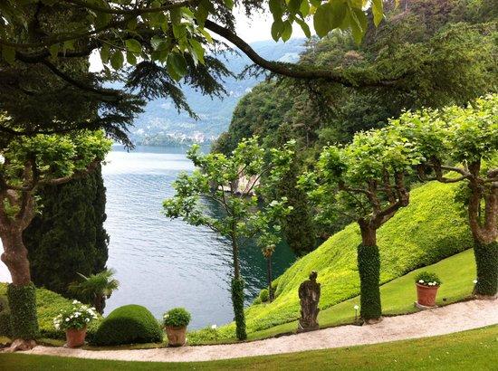 Villa del Balbianello: Garden view