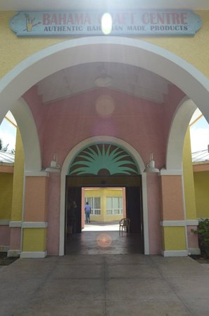 Bahama Craft Centre: The Center entrance.