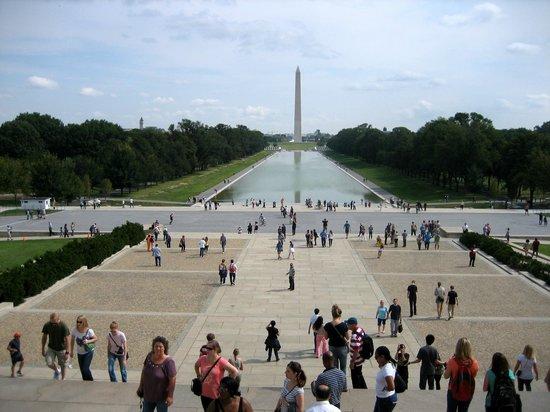 Big Bus Washington DC : Big Bus Stop Lincoln Memorial