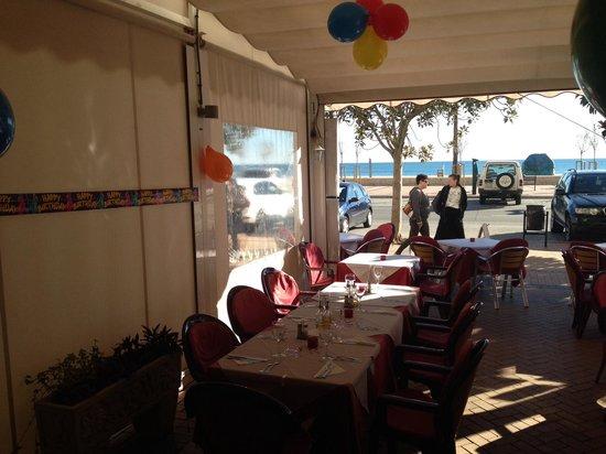 Restaurante Dominique's Fuengirola: Surprise party to clients