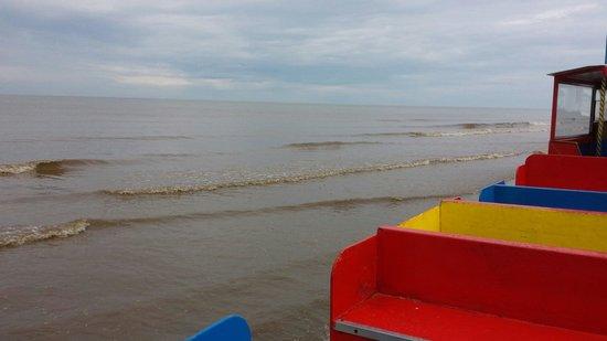 Sand Train: Into the sea :)