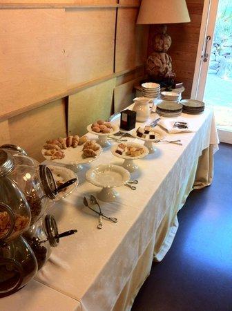 Casas do Côro: Parte dulce de desayuno