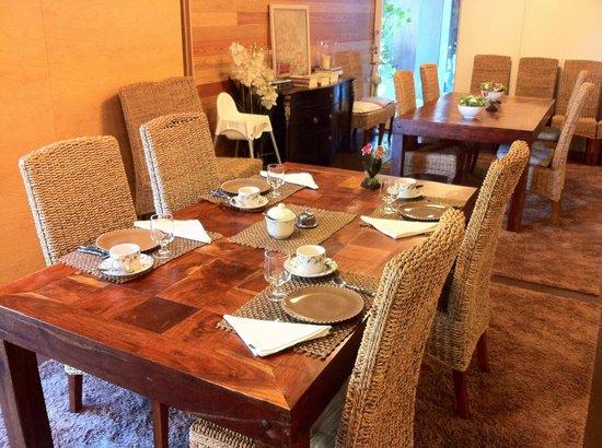 Casas do Côro: Zona desayuno
