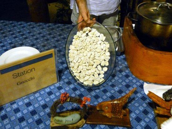 Siladen Resort & Spa: italienischer Abend