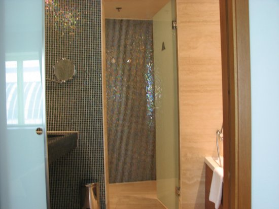 Avalon Hotel: swanky shower area
