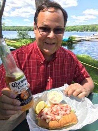 Cyndi's Dockside Restaurant: Lobster Roll 6/6/2014