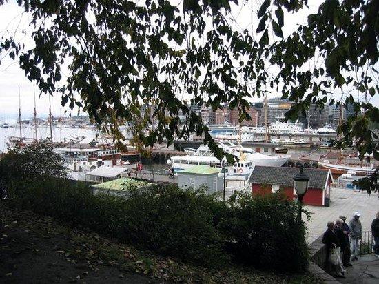 Festung Akershus: Harbour view