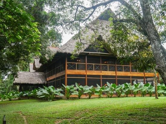 Inkaterra Hacienda Concepción: The main lodge.