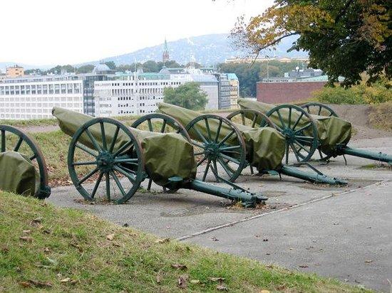 Festung Akershus: Canons