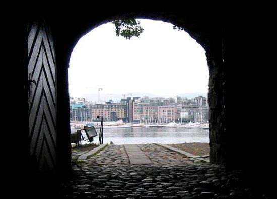 Festung Akershus: Through view over the Oslofjord