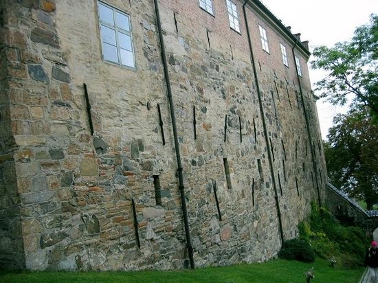 Festung Akershus: Solid walls