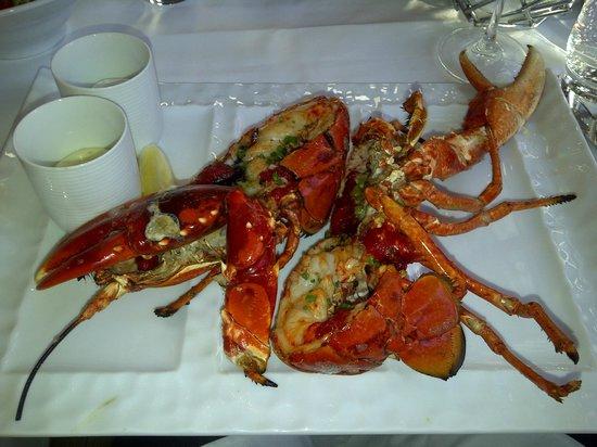 Tjuvholmen Sjomagasin: Norwegian lobster.  This is excellent!