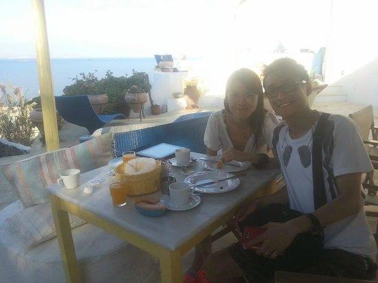 Omiros Hotel: Nice Breakfast :)