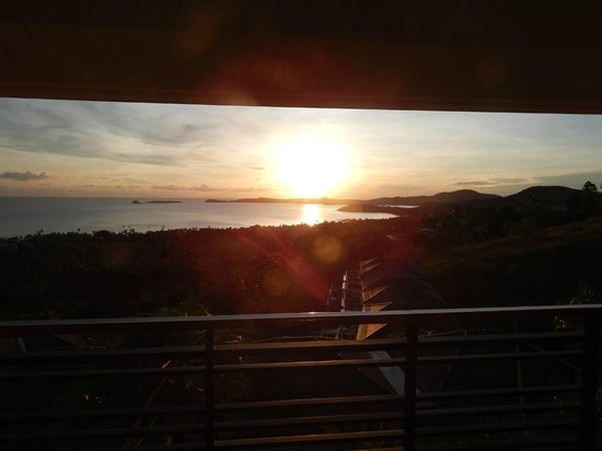 Mantra Samui Resort : evening view from 342