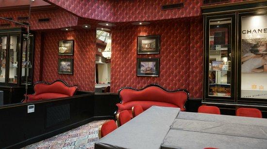 Grand Hotel de l'Opera: интерьер бара