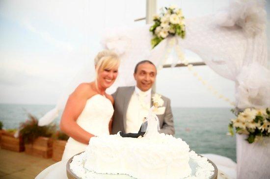 Liberty Hotels Lara : Wedding on the pier
