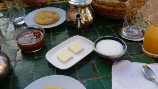 Dar Choumissa: Colazione
